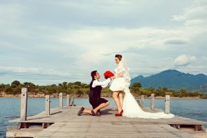 Prewedding by angelinagunawan