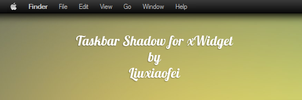 Top taskbar shadow for xWidget by Liuxiaofei