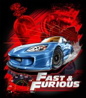 FAST AND FURIOUS 09 by BROWN73