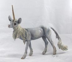 Breyer- Gothic Unicorn by tyreenya