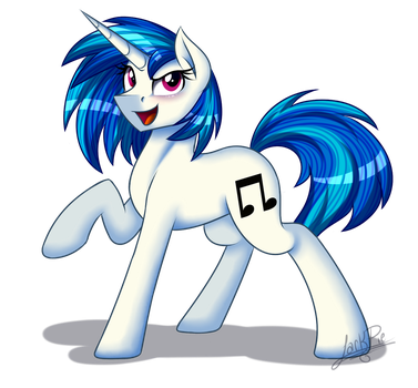 Vinyl Scratch (Remake) by Jack-Pie