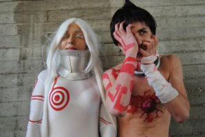 Ganta and Shiro - Deadman Wonderland by ShuzaCosplay