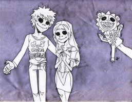 Hollows in Love-Gorillaz style by mdragonheartlove