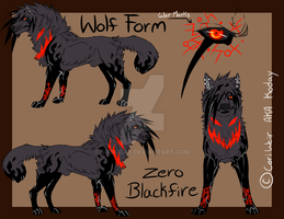 (Old) Zero Blackfire's Wolf Form by xKoday