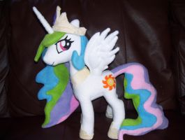 Princess Celestia Plush by EquestriaPaintings