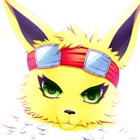 Jolteon by MzzAzn