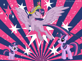 Twilight Sparkle Time Line by MLR19