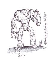 Golem by andrevanstone2009 by Robot-drawing-club