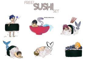 Free! sushi by Rikkis
