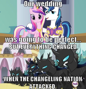 When the Changeling Nation attacked by WarriorSparrow