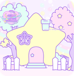 Starbunny house by Cosmiccuties