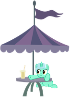 Lyra wants her Smoothie! by boem777
