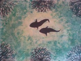 Underwater Painting by rupshree
