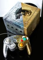 custom Zelda Twilight Princess Gamecube by Zoki64