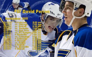 Dec. 2011 Blues Schedule Wallpaper by RealBadRobot