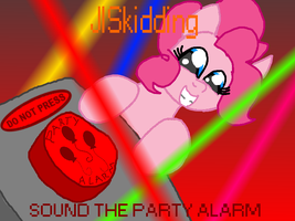 SOUND THE PARTY ALARM(link to song in DESCRIPTION) by Hyperwave9000