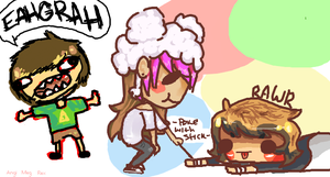 Iscribble 1 Collab by 3o2