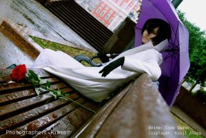 Lelouch Lamperouge: her rose by KoujiAlone
