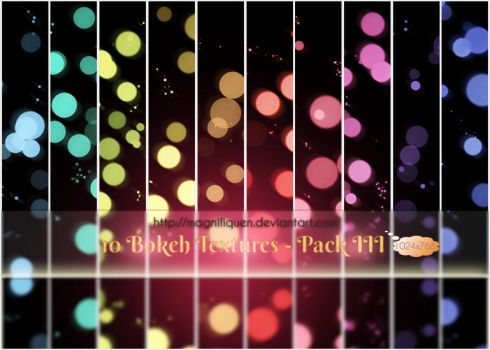 Bokeh-Light-Textures-Pack-III by MagnifiqueN
