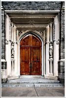 Church Door by Deliciaa