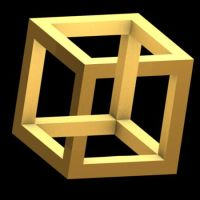 Impossible cube by magicbob3D