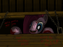 Pinkamena (Evil Dead) by THAT1ANDONLY