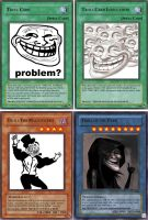 YUGIOH troll cards by karlonne