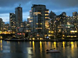Vancouver Lights by GreenSillyMonkey