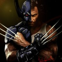 Hugh Jackman as Weapon X by papabear7