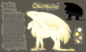 Charmaine Reference Sheet by AppleRat