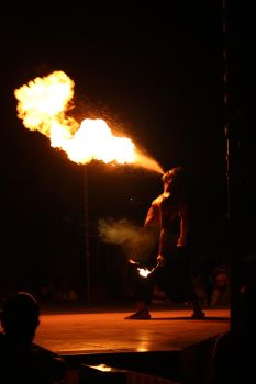 Fire Breather! by Photacular