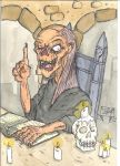 The Crypt keeper by The-mighty-Daezaan