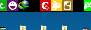 Remake of Windows 8 Dock theme by MrIkki