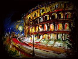Colosseum by TamiTw