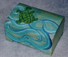 Sea Turtle Box by TalyrasMirror