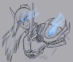 WoW: Quickie Sketch by Achrius