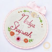 Nadya Shafwah_embroidery hoop_2 by MikiNamuno