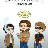 Supernatural season 10 by Tsuki-Nekota
