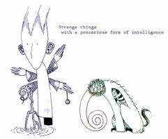 Strange things... by dcf