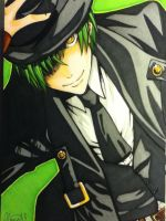 BlazBlue - Hazama by LaniKiryu666