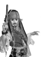Jack Sparrow by She-sAPirate