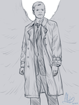 Castiel (Supernatural) by Alia64