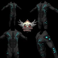 Sci Fi Suit for M4 by mestophales