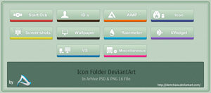 Icon DeviantArt by DemchaAV
