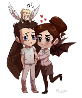 Angels and Demons by Meroni