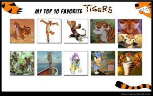 My Favorite Tigers by KessieLou