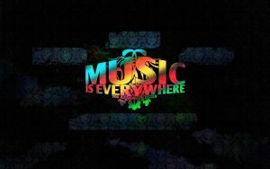 Music Is Everywhere WP by trizen