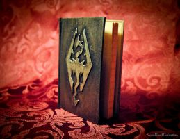 Skyrim Mini Journal by StormbloodCurio
