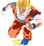SSJ Adult Gohan (BoG) Colored (No Lines Edition) by Peetzaahhh2010