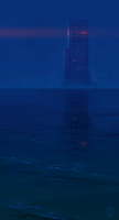 Blue Monolith by ExitMothership